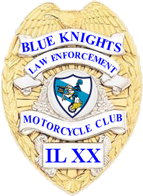 Blue Knights Illinois XX Badge